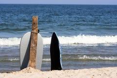 Panneaux de vague déferlante Images libres de droits