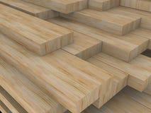 Panneaux en bois Image stock