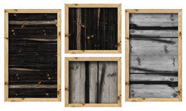 Panneaux en bois images libres de droits