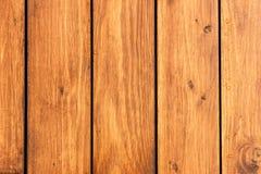 Panneaux en bois, bois de construction, couleur de teck, structure en bois, fond Image libre de droits