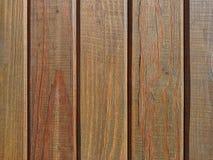 Panneaux en bois brun, texture de fond Photo stock