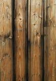 panneaux en bois de barrière Images stock
