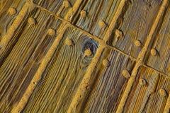 Panneaux en bois de Brown Texture en bois Photographie stock libre de droits