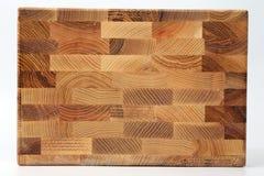 Panneaux en bois de différentes couches de bois sur un fond blanc Photos libres de droits