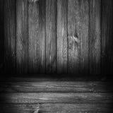 Panneaux en bois de fond gris Photographie stock libre de droits
