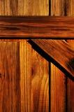 Panneaux en bois de frontière de sécurité Image libre de droits