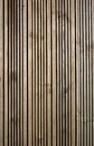 Panneaux en bois de paquet Photographie stock