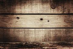 Panneaux en bois de vintage Images libres de droits