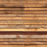 Panneaux en bois empilés Image stock