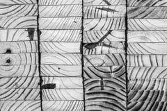 Panneaux en bois empilés Images stock