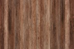 Panneaux en bois grunges Fond de planches Plancher en bois de vintage de vieux mur Image libre de droits