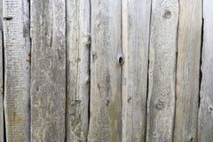 Panneaux en bois grunges pour le fond Photos libres de droits