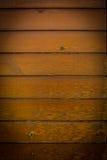Panneaux en bois horizontaux bruns de fond Images stock