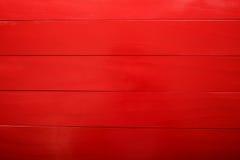 Panneaux en bois rouges Photos libres de droits