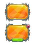 Panneaux en cristal illustration stock