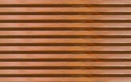 Panneaux horizontaux de fond en bois abstrait de Brown avec l'espace vide entre les éléments sans fin Photographie stock