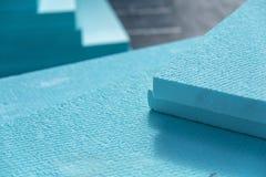 Panneaux isolants de polystyrène de XPS Image stock
