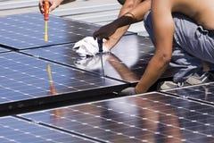 Panneaux photovoltaïques Photo libre de droits