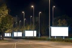 Panneaux-réclame Photographie stock libre de droits