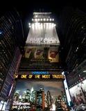 Panneaux-réclame de Times Square Photo stock