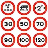 panneau routier limitation de vitesse 120 illustration stock image 57338920. Black Bedroom Furniture Sets. Home Design Ideas