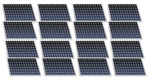 Panneaux solaires Photo libre de droits