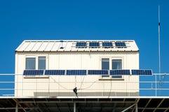 Panneaux solaires photographie stock
