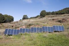 Panneaux solaires Image stock