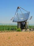 Panneaux solaires, verticaux photo libre de droits