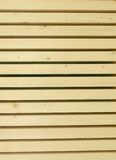 Panneaux sur la fabrication en bois image stock