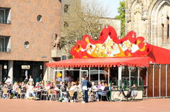pannecakes restaurant in Groningen. Netherlands Royalty Free Stock Images