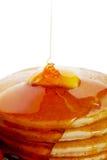 Pannekoeken met Stroop Royalty-vrije Stock Afbeeldingen