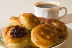 Pannekoeken om te ontbijten Royalty-vrije Stock Foto