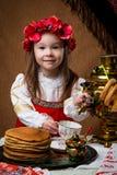 Pannekoekweek De lentevakantie stock fotografie