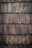 Pannellatura di legno scura Immagine Stock