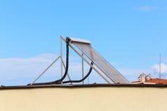 Pannelli del fromsun di energia solare Fotografie Stock