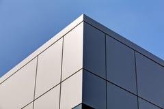 Pannelli di alluminio del alubond e della facciata Fotografie Stock