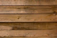 Pannelli di legno orizzontali Fotografia Stock