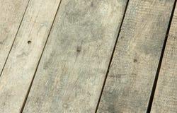 Pannelli di legno parallelamente Immagine Stock