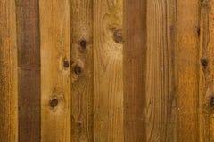 Pannelli di legno verticali Immagini Stock Libere da Diritti