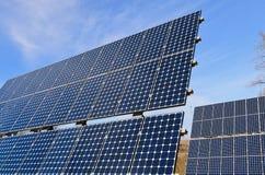 Pannelli fotovoltaici Immagine Stock