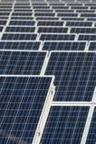 Pannelli fotovoltaici Fotografia Stock