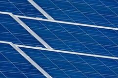 Pannelli fotovoltaici Fotografia Stock Libera da Diritti