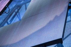 Pannelli modulari all'aperto del LED come decorazione sulla fase Immagini Stock