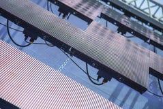 Pannelli modulari all'aperto del LED come decorazione sulla fase Fotografia Stock