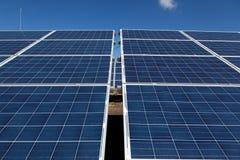 Pannelli solari Fotografie Stock Libere da Diritti