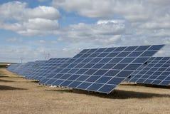 Pannelli solari Fotografia Stock