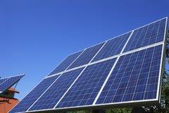 Pannelli solari Immagini Stock Libere da Diritti