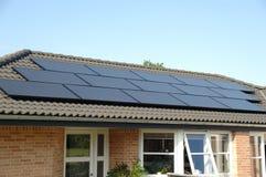 Pannelli solari Immagine Stock Libera da Diritti