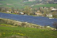 Pannelli solari Lizenzfreies Stockbild